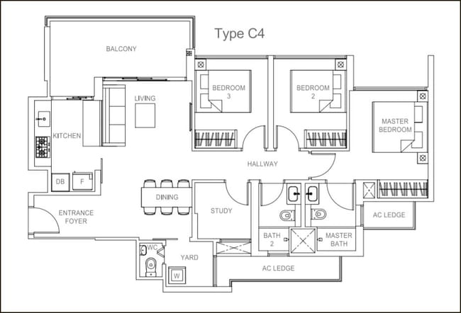 Rivercove Residences EC Type C4