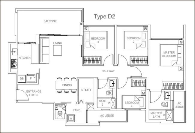 Rivercove Residences EC Type D2