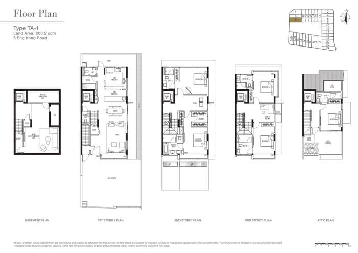 Kismis Residences Floor Plan 1