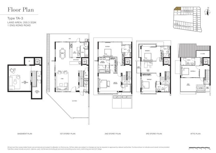 Kismis Residences Floor Plan 2
