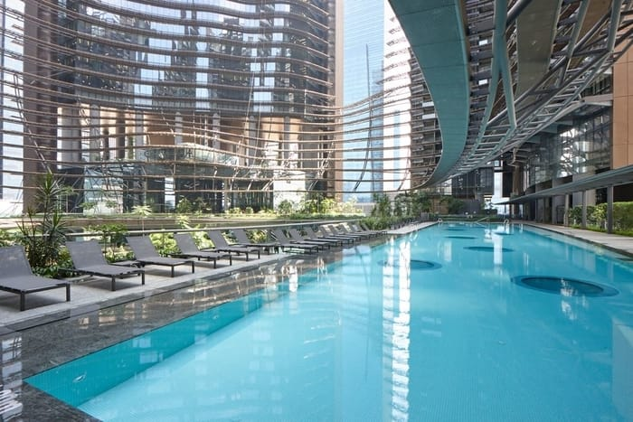 Marina One Residences swimming pool