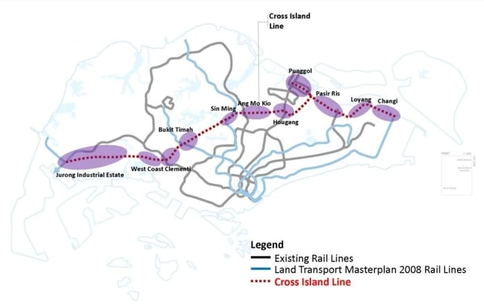cross-island-line-map