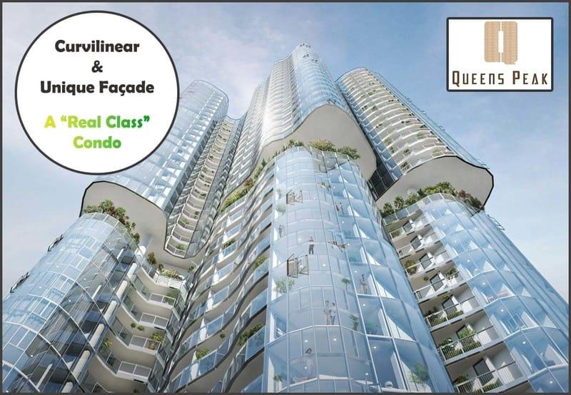 Queens Peak condo facade