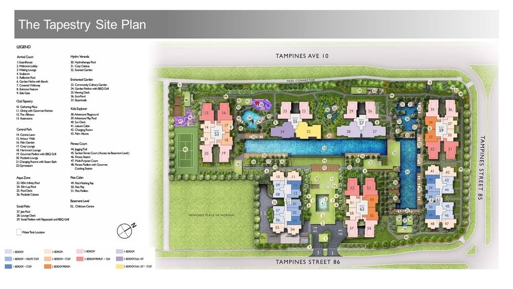 Tapestry condo site plan