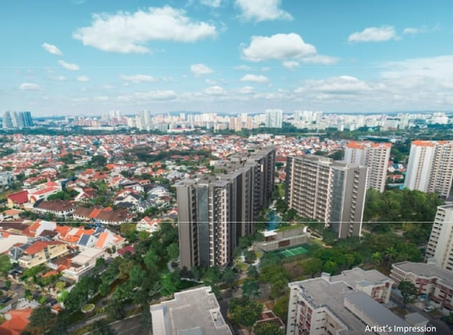 The Garden Residences Unblocked Land View