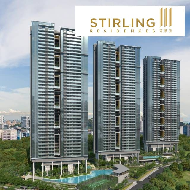 STIRLING Residences: 3 Min Walk From Queenstown MRT