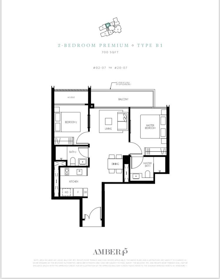 Amber 45 Floor Plan