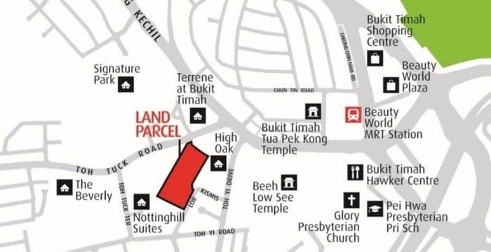 Daintree Residence location map