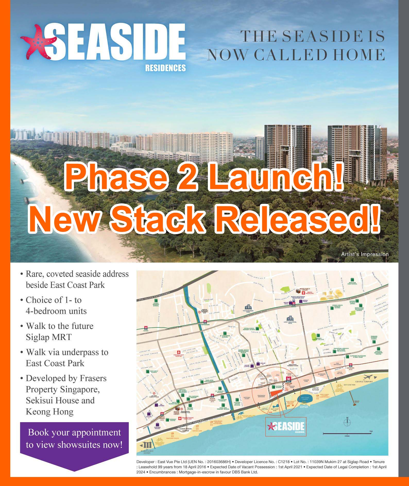 Seaside Residences Phase 2