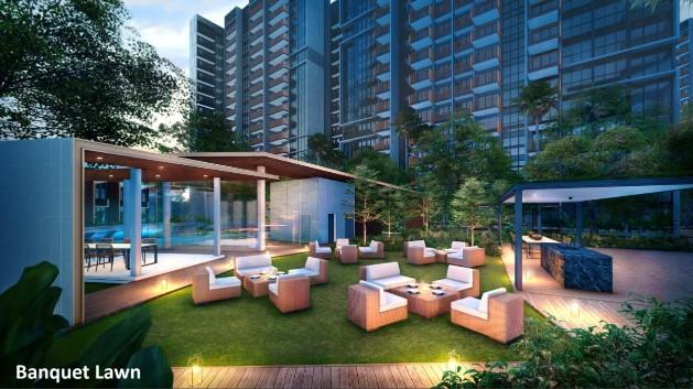 Riverfront Residences Banquet Lawn