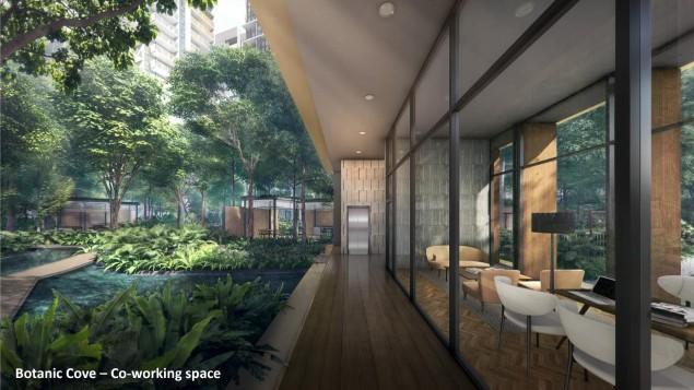 Riverfront Residences Botanic Cove - Co-working Space