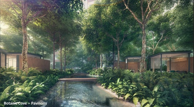Riverfront Residences Botanic Cove - Pavilions