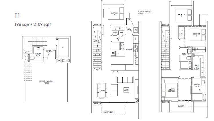 Riverfront Residences Floor Plan Strata House