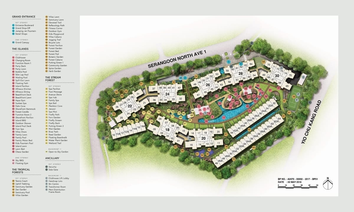Affinity Serangoon Site Plan