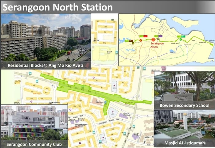 Serangoon North MRT station