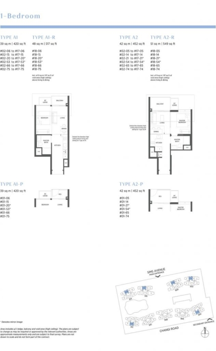 Parc Esta Floor Plan 1 Bedroom