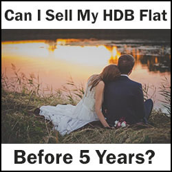 sell my hdb flat before 5 years