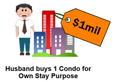 Husband Buy Condo