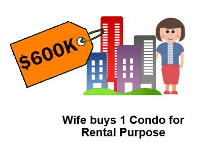 Wife Buy Condo