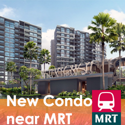 New Condo near MRT