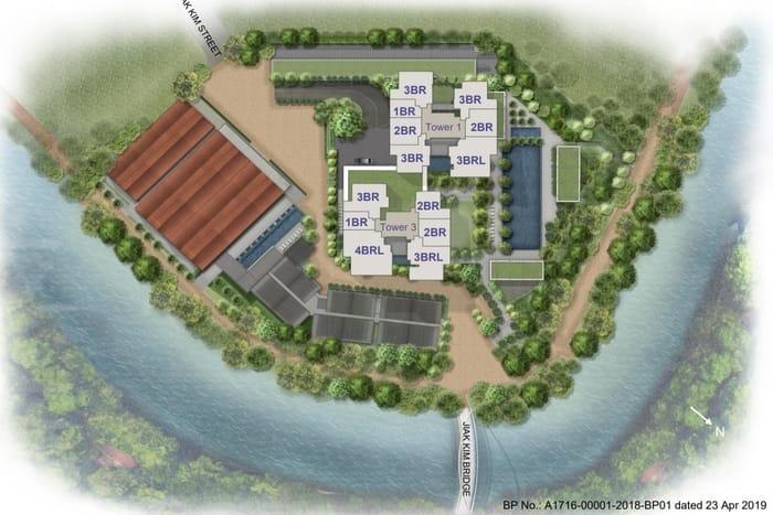 Rivierre Condo site plan