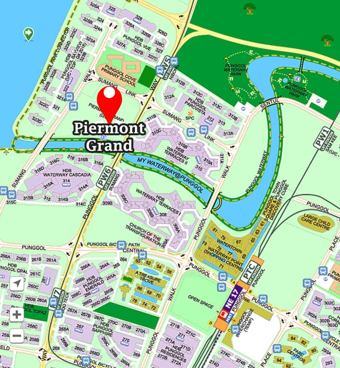 Piermont Grand EC location