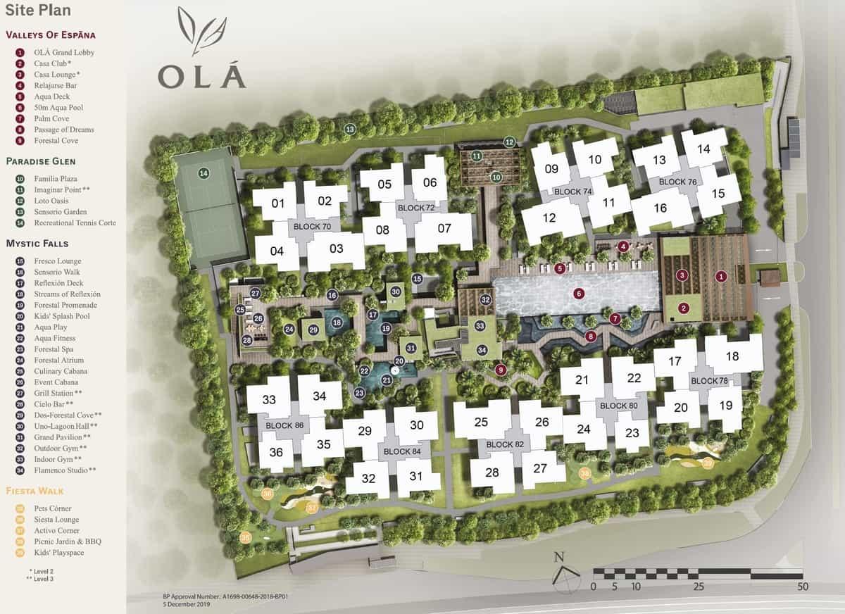 Ola EC Floor Plan