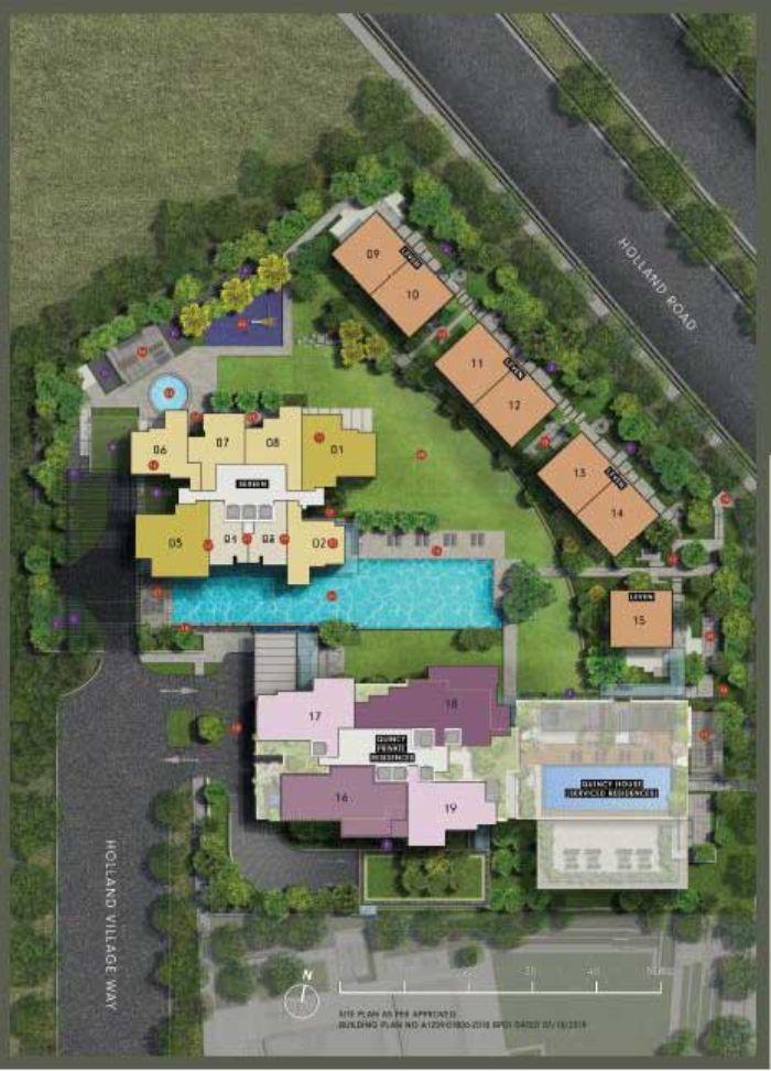 One-Holland-Village-Site-Plan