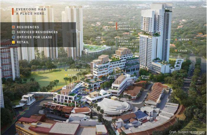 One Holland Village Residences Singapore Most Charming Development