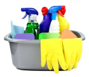 find a tenant and get them a cleaner