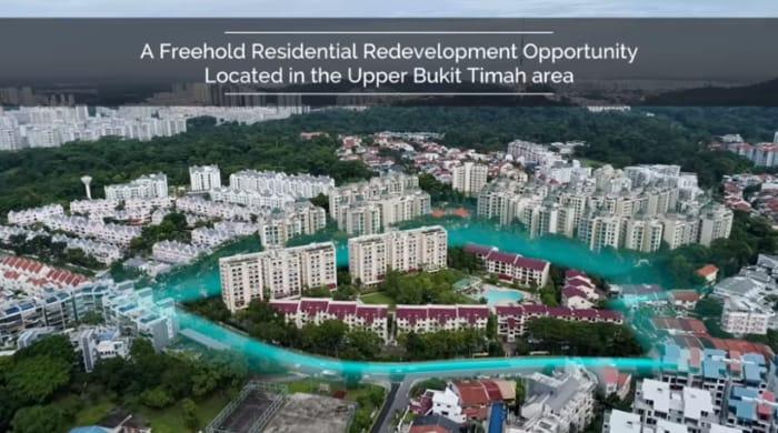 Forett Bukit Timah former Goodluck Garden