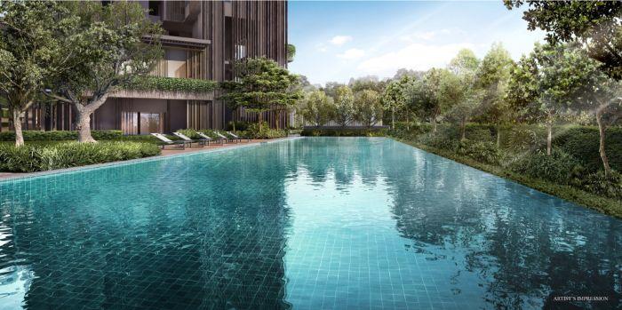The Avenir Condo swimming pool
