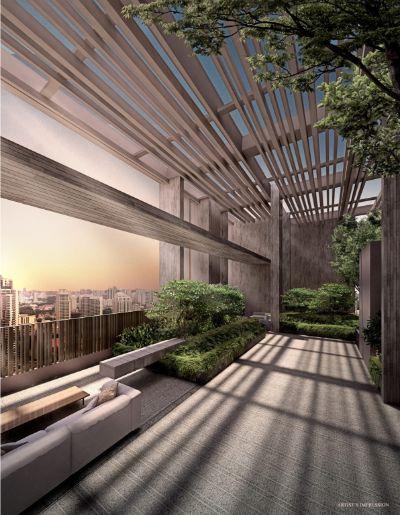 The Avenir Condo sky garden