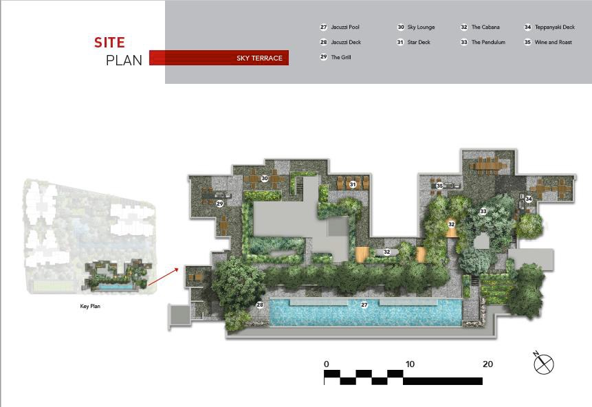 The M Condo Site Plan