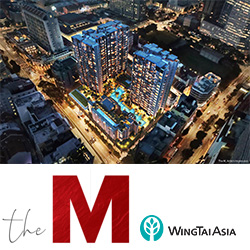 The M condo by Wingtai
