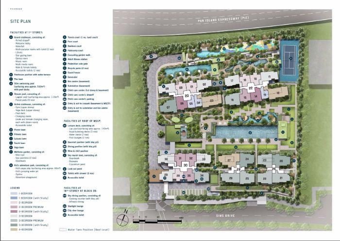 Penrose Condo Site Plan