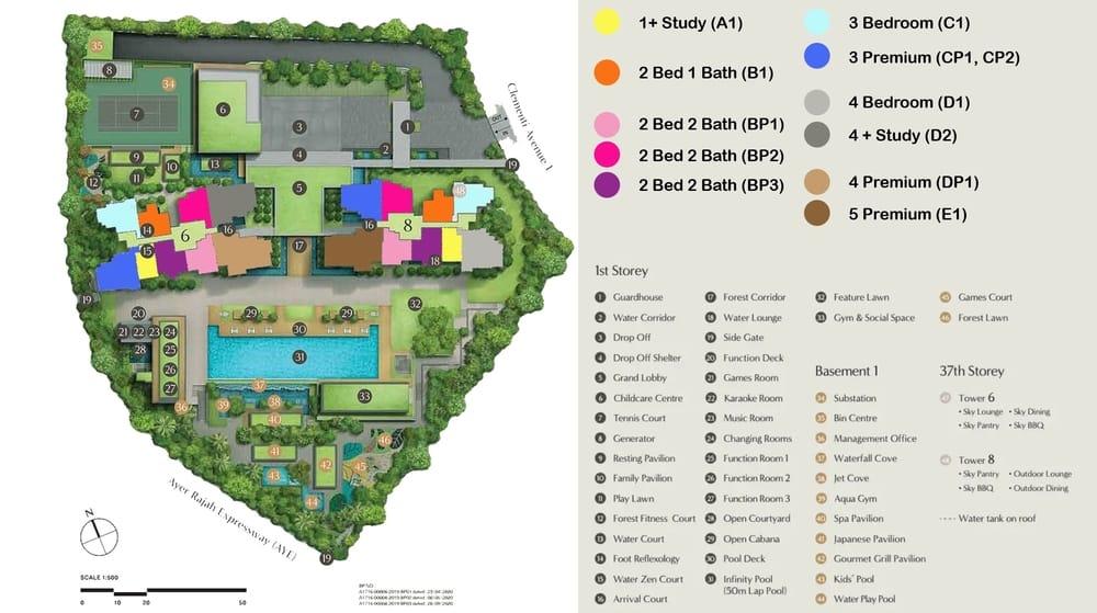 Clavon Condo site Plan