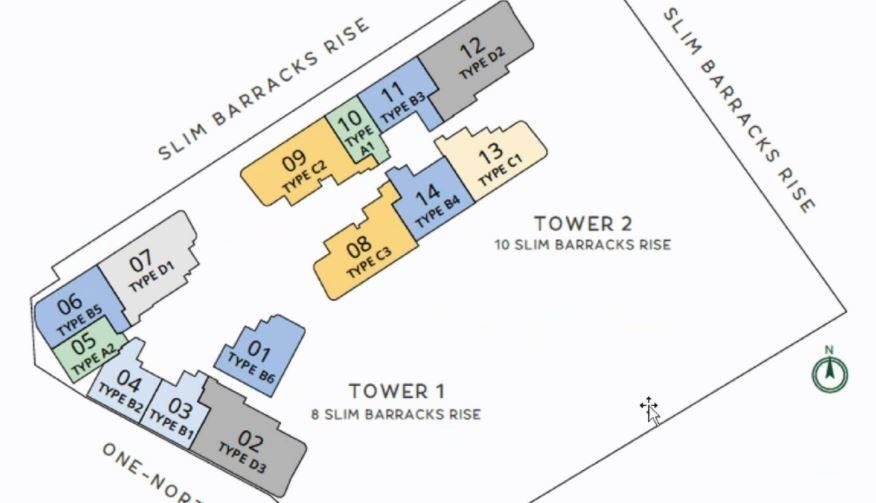One-North Eden floorplan