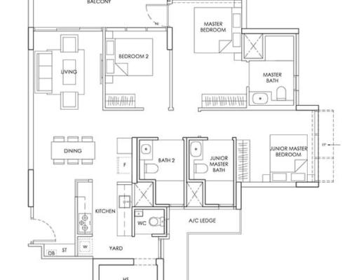 3-Bedroom-Type-C7-1206sqft