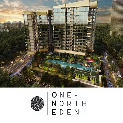 One North Eden condo logo