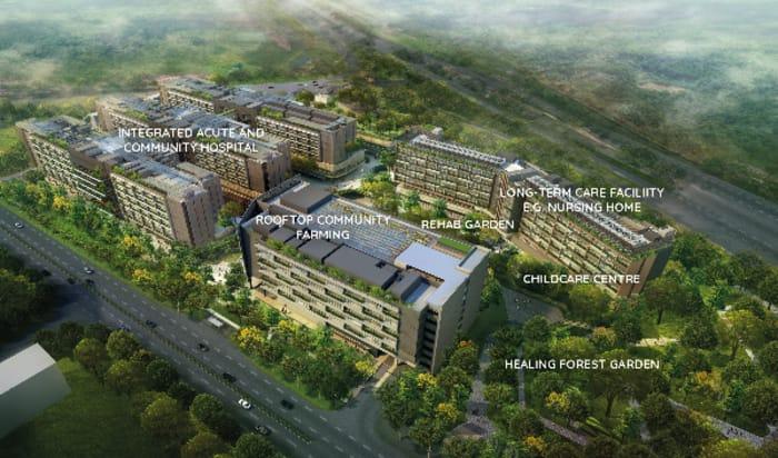 Woodlands Health Campus near Provence EC