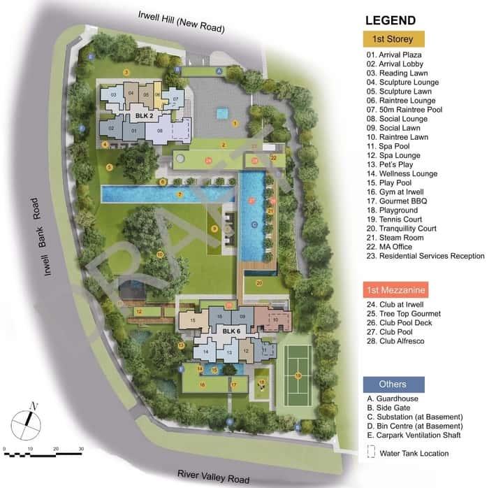 Irwell Hill Residences floor plan