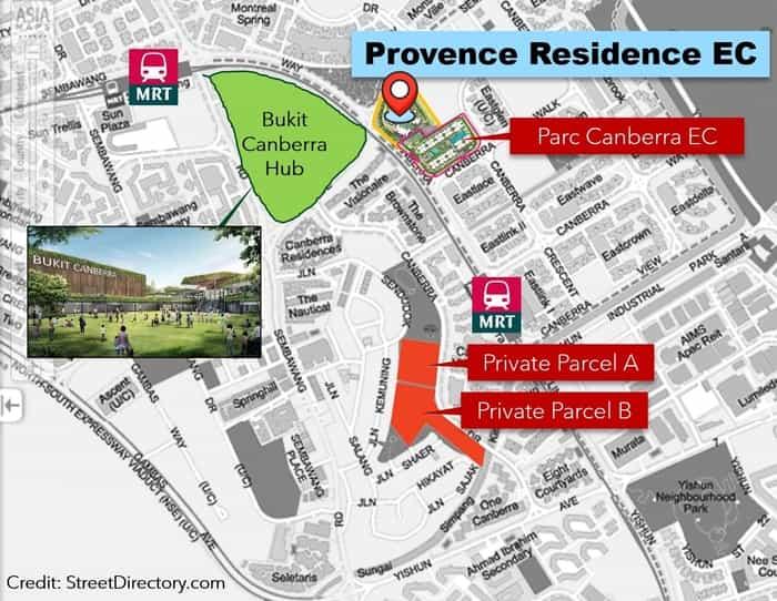 Provence Residence EC location