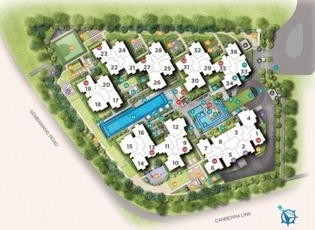Provence Residence EC Site Plan