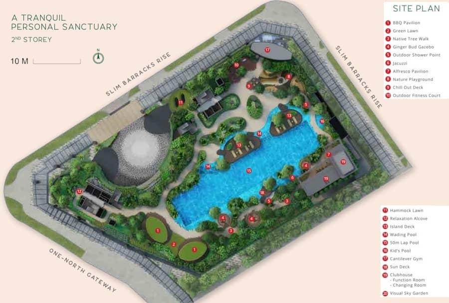 One North Eden condo site plan