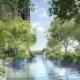 Midtown Modern condo garden