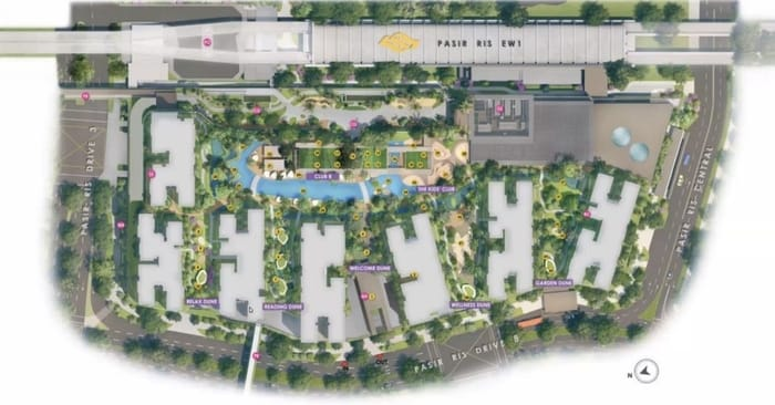 Pasir Ris 8 site plan