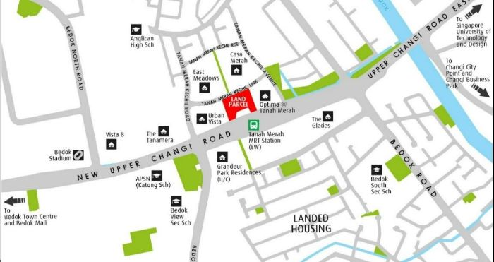 Tanah Merah Condo Location